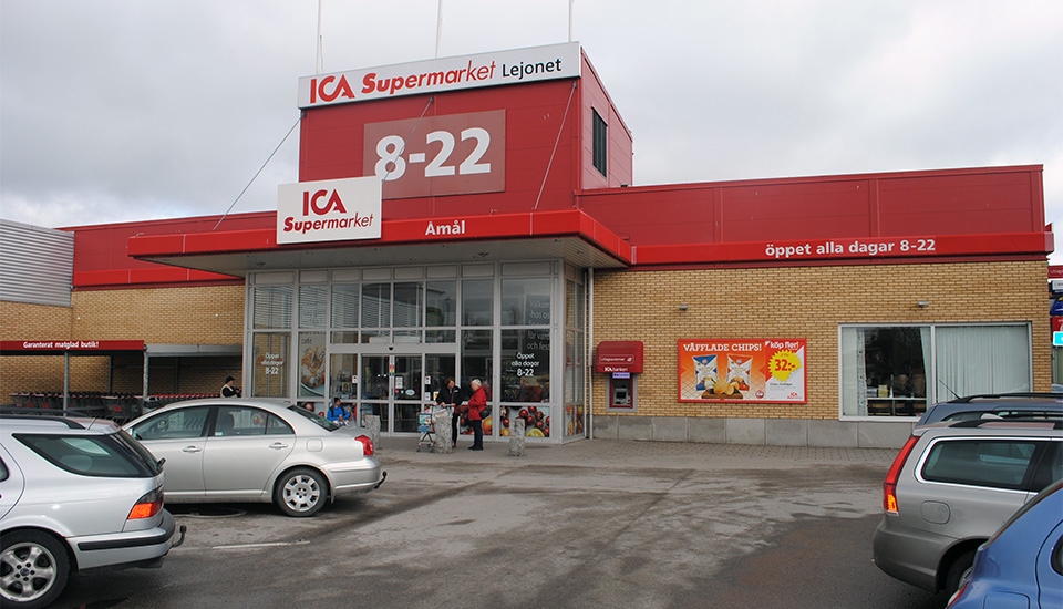 ica supermarket affär