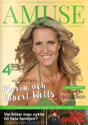 Amuse Arvika & Årjäng Mars/April 2016